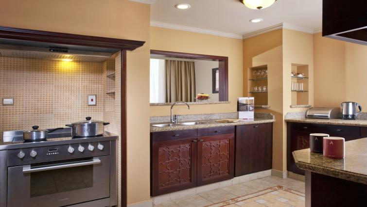 Bathroom at the Arjaan Dubai Media City Apartments - Citybase Apartments