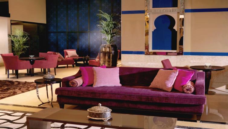 Communal lobby at the Arjaan Dubai Media City Apartments - Citybase Apartments