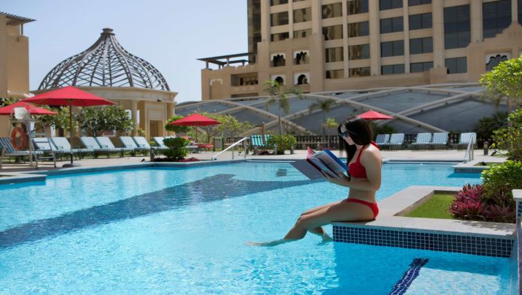 Pool at the Arjaan Dubai Media City Apartments - Citybase Apartments