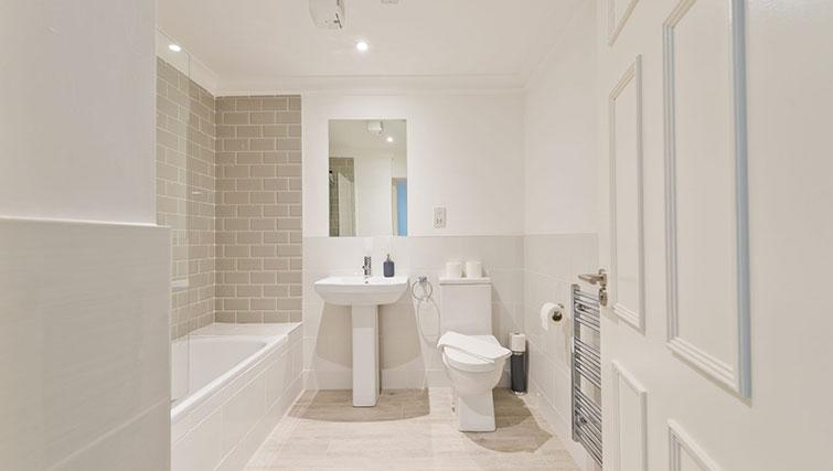 Bathroom at Suesey Place Apartments - Citybase Apartments
