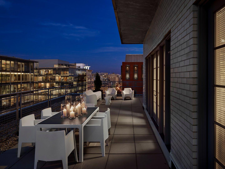Terrace at AKA White House, Centre, Washington DC - Citybase Apartments