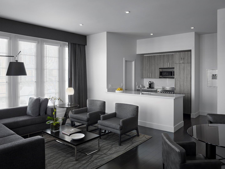 Penthouse kitchen at AKA White House, Centre, Washington DC - Citybase Apartments