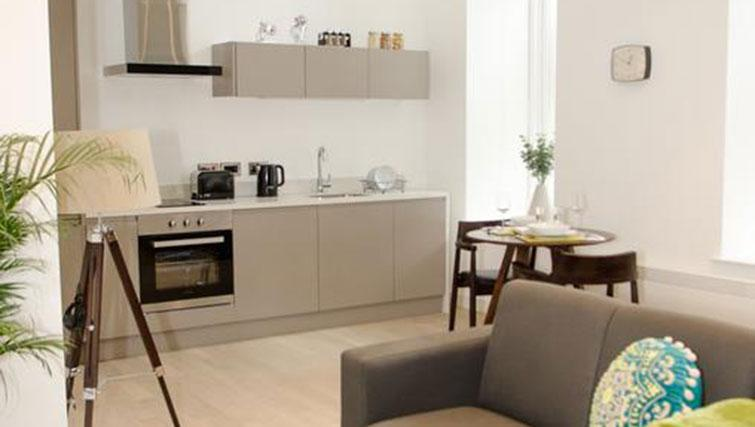 Spacious living space at FM Living Apartments - Citybase Apartments