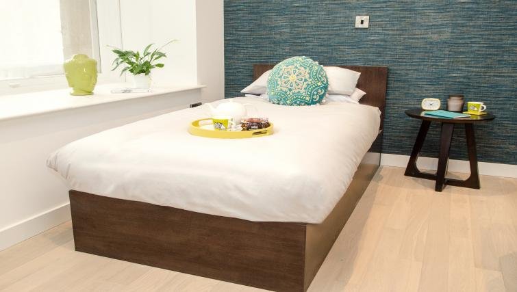 Single bed at FM Living Apartments - Citybase Apartments
