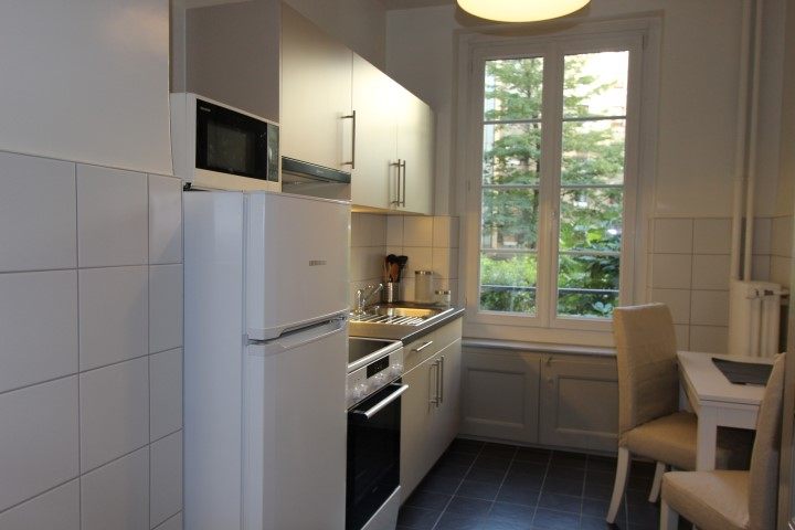 Kitchen at Le Mairie Apartments - Citybase Apartments