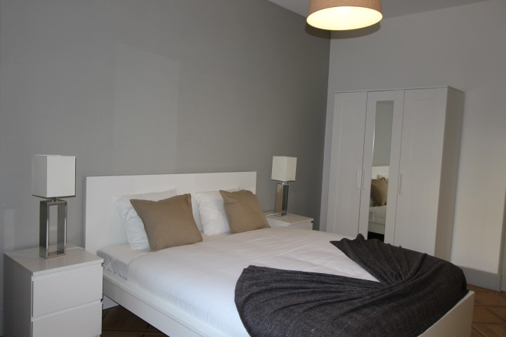 Bedroom at Le Mairie Apartments - Citybase Apartments