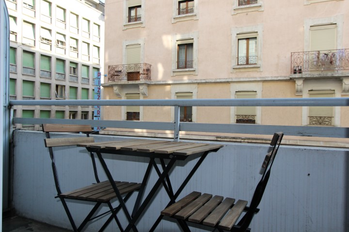Balcony at Le Mairie Apartments - Citybase Apartments