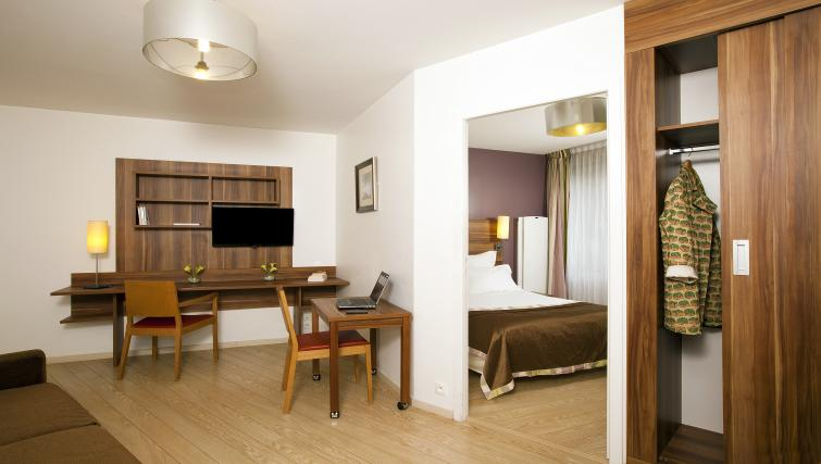 Living area at Residhome Bures la Guyonnerie - Citybase Apartments