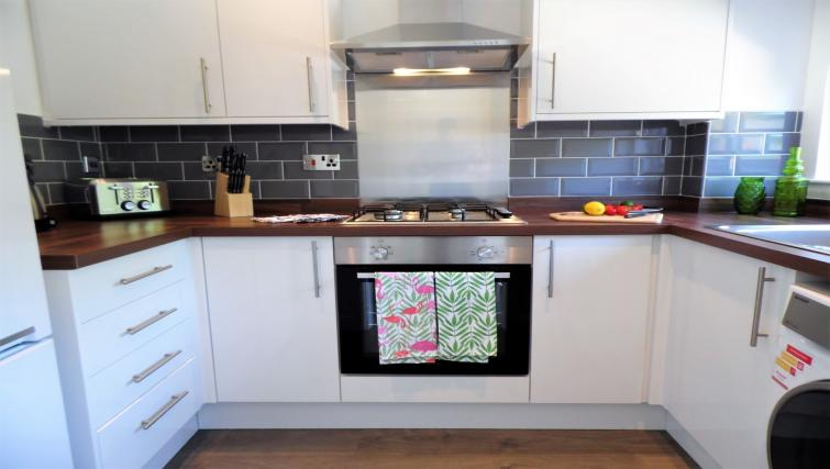 Kitchen at Woodfield House - Citybase Apartments