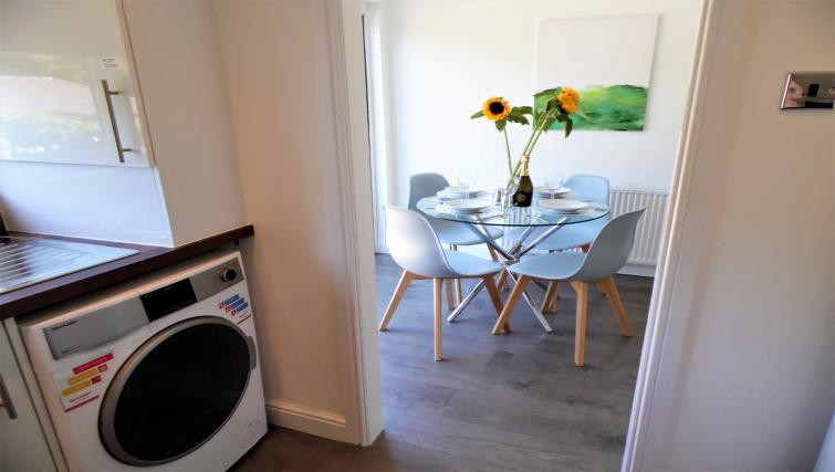 Laundry at Woodfield House - Citybase Apartments
