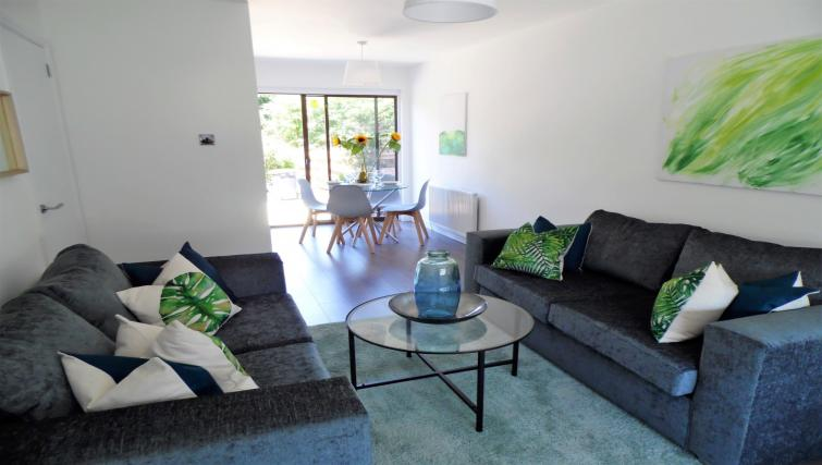 Living area at Woodfield House - Citybase Apartments