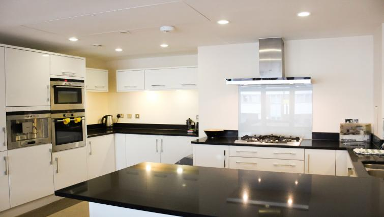 Kitchen at Flying Butler Westrovia Apartments - Citybase Apartments