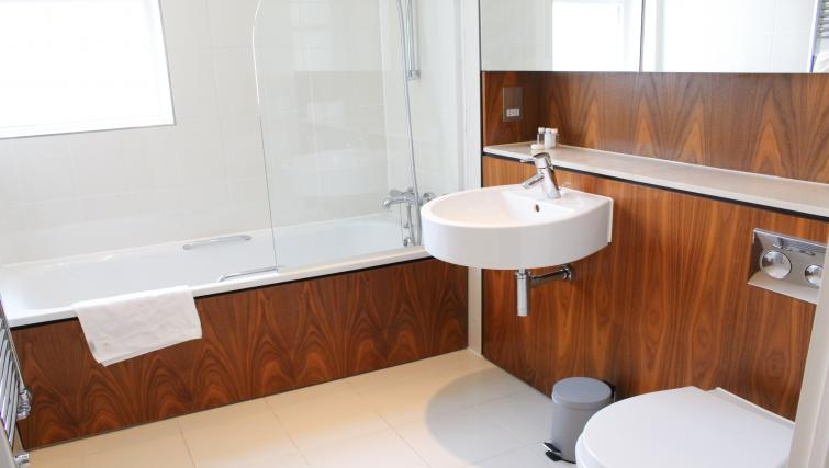 Bathroom at Flying Butler Westrovia Apartments - Citybase Apartments