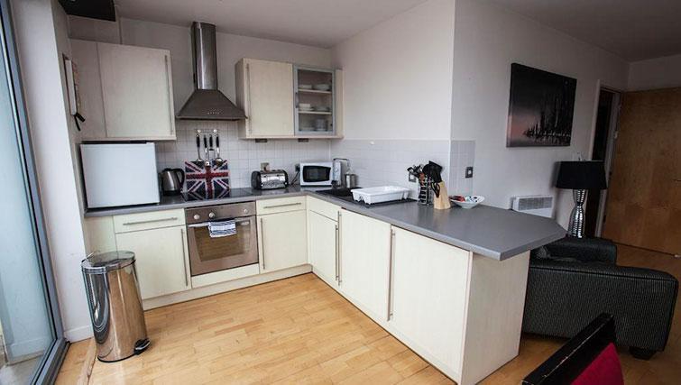 Modern kitchen at Cranbrook House Apartments - Citybase Apartments