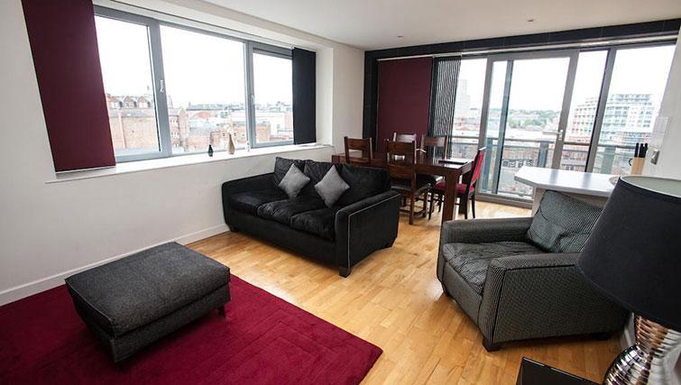 Sofa at Cranbrook House Apartments - Citybase Apartments
