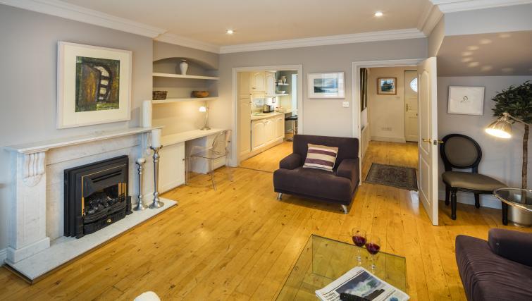 Spacious living area at Ballsbridge Woods Apartment - Citybase Apartments