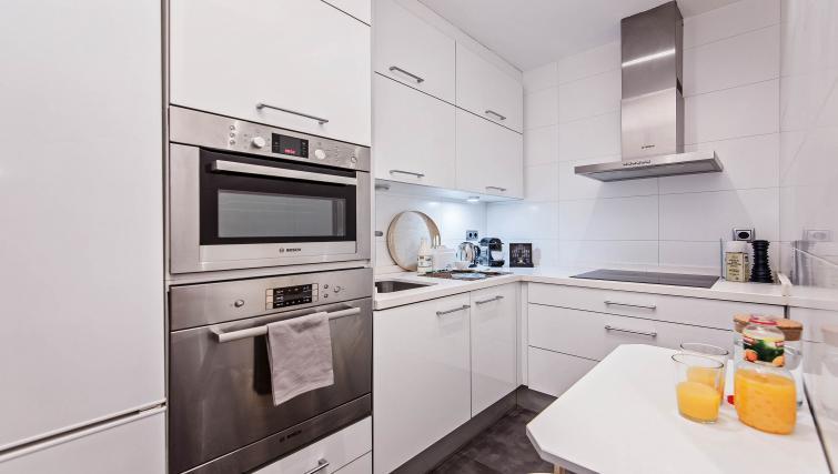 Kitchen at Vicky Barcelona Apartment - Citybase Apartments