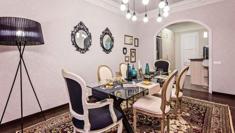 Dining table at Gracia Deluxe Apartment - Citybase Apartments