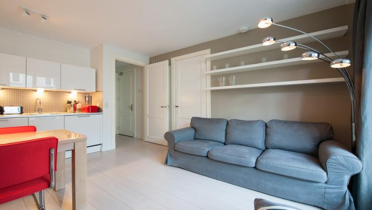 Living room at Dapper Market Apartments, Amsterdam - Citybase Apartments