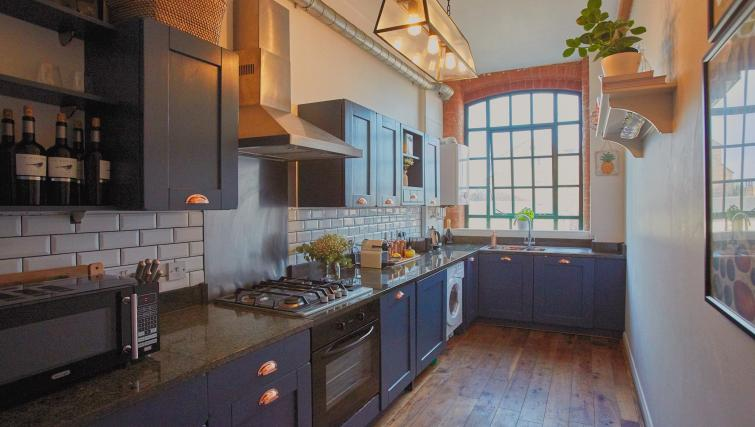 Kitchen at Raleigh Square Serviced Apartment - Citybase Apartments
