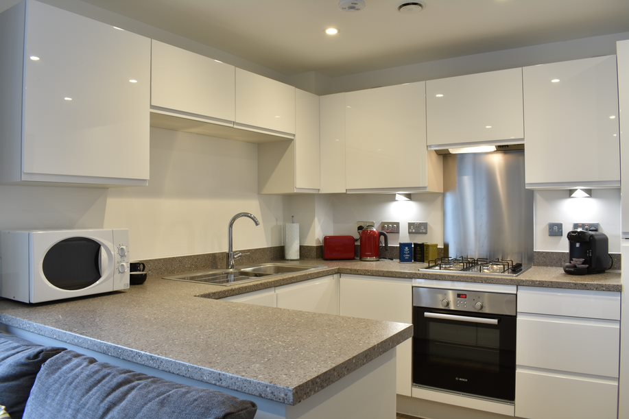 Kitchen at Duke of Wellington Apartment - Citybase Apartments