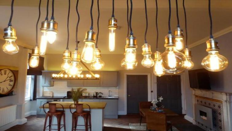 Lighting at Claremont Apartments - Citybase Apartments