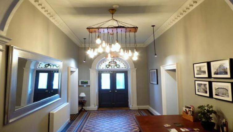 Hallway at Claremont Apartments - Citybase Apartments