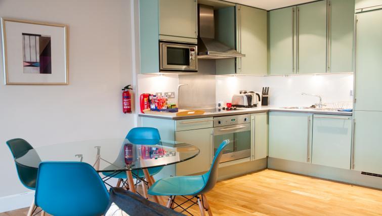 Kitchen at Clarendon Pepys Street - Citybase Apartments