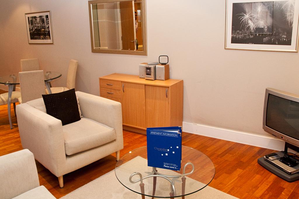 Lounge at Clarendon Pepys Street - Citybase Apartments