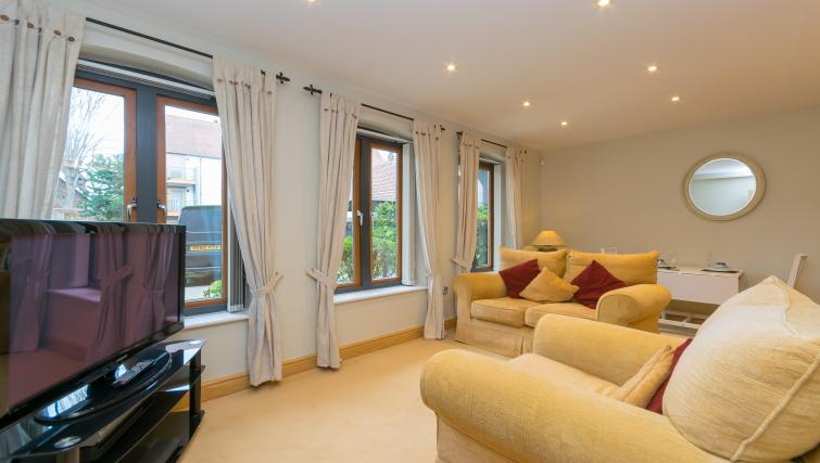 Living area at Foregate Street Apartment - Citybase Apartments