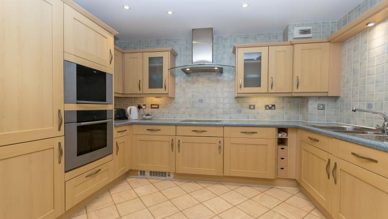 Kitchen at Foregate Street Apartment - Citybase Apartments