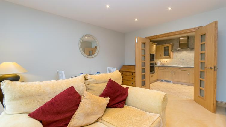 Sofa at Foregate Street Apartment - Citybase Apartments