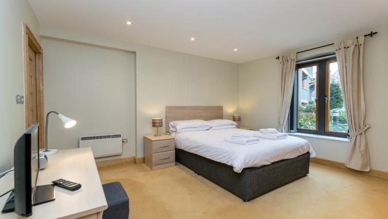 Bedroom at Foregate Street Apartment - Citybase Apartments