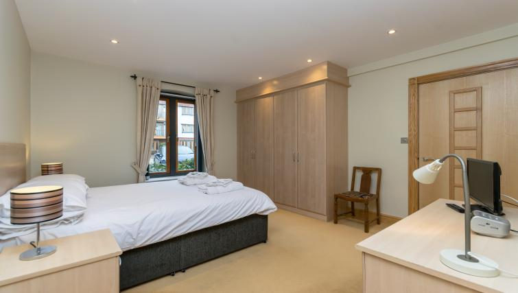 Bed at Foregate Street Apartment - Citybase Apartments