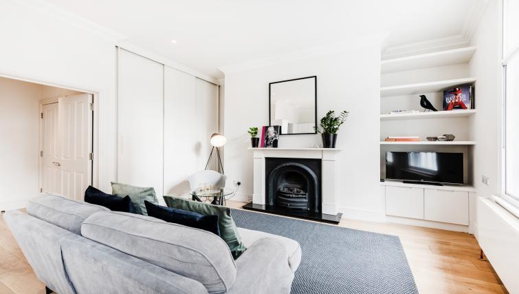 Fireplace at Wardour Street Apartments - Citybase Apartments