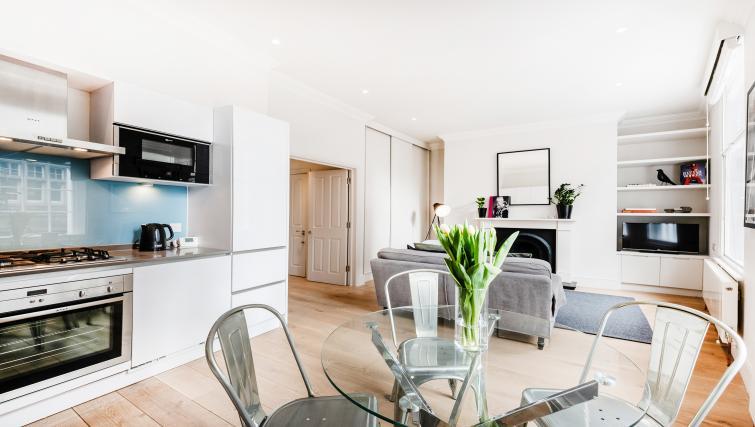 Table at Wardour Street Apartments - Citybase Apartments