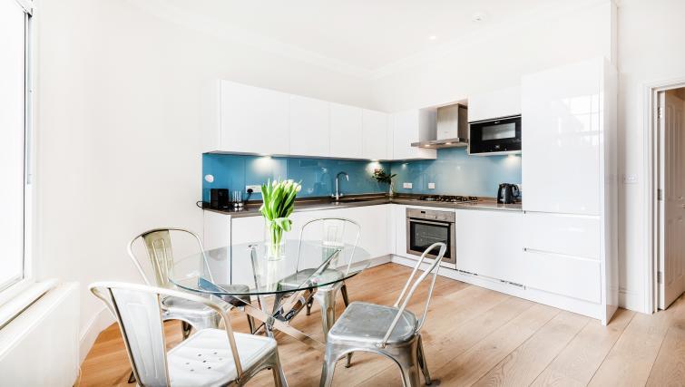 Kitchen at Wardour Street Apartments - Citybase Apartments
