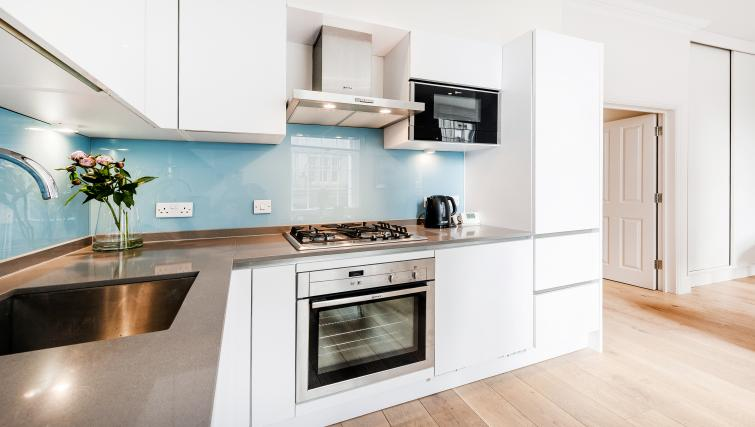 Equipped kitchen at Wardour Street Apartments - Citybase Apartments