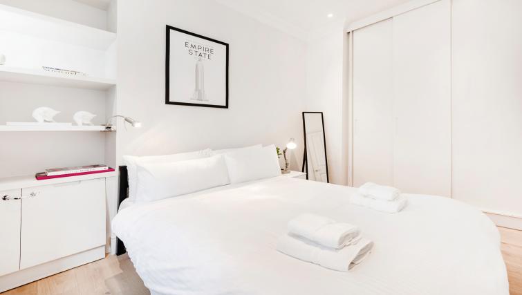 Double bedroom at Wardour Street Apartments - Citybase Apartments