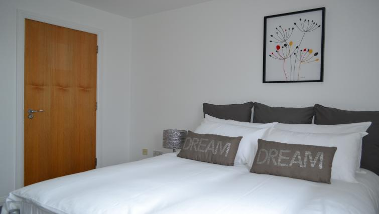 Bedroom at the Belfast Penthouse & Apart - Citybase Apartments