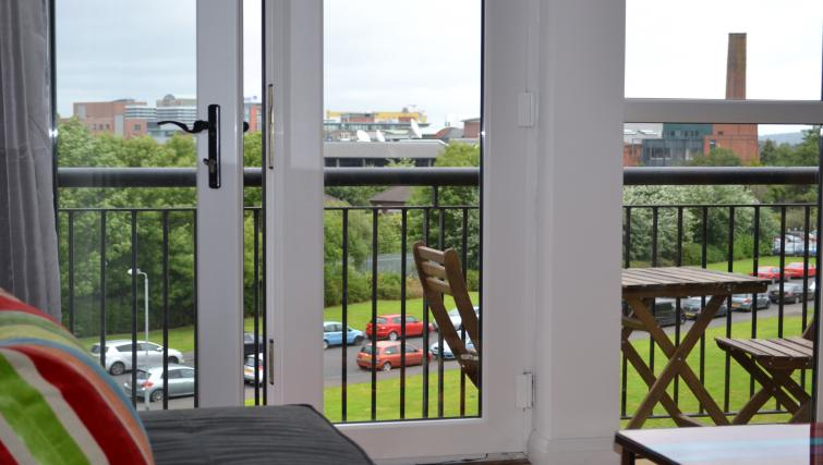 Balcony at the Belfast Penthouse & Apart - Citybase Apartments