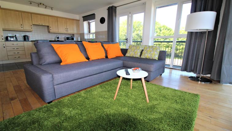 Lounge at the Belfast Penthouse & Apartments - Citybase Apartments