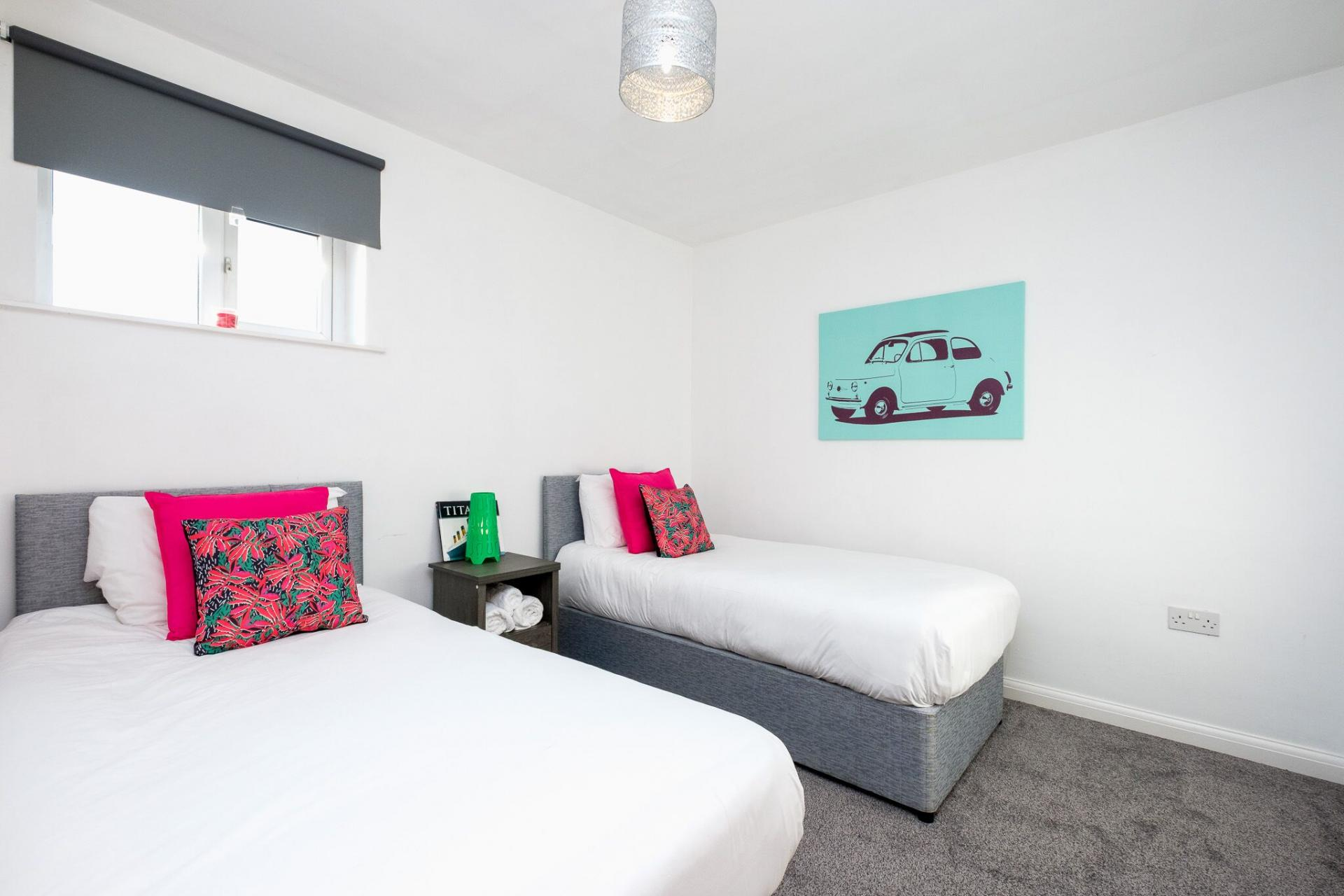Cosy beds at Belfast Penthouse & Apartments, Centre, Belfast - Citybase Apartments