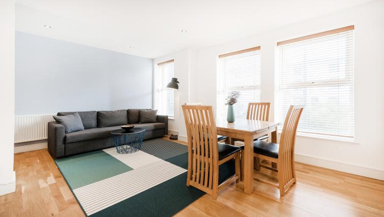 Dining area at the Kentish Town Apartment - Citybase Apartments