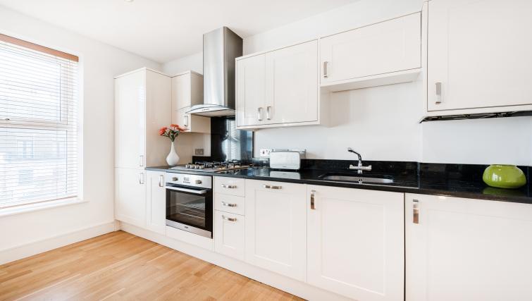 Kitchen at the Kentish Town Apartment - Citybase Apartments