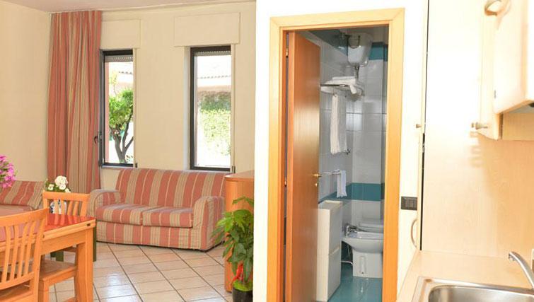 Lounge at Miramare Residence - Citybase Apartments