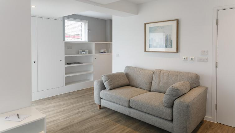 Living area at Devonshire Road Apartments - Citybase Apartments