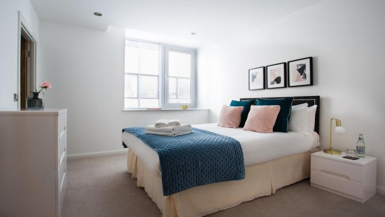 Bright bedroom at Flying Butler Croydon Apartments - Citybase Apartments