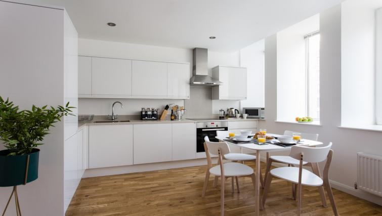 Kitchen at Flying Butler Croydon Apartments - Citybase Apartments
