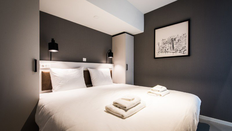 Bedroom at Eastern Docklands Apartments, Amsterdam - Citybase Apartments